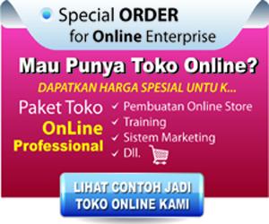 banner toko online